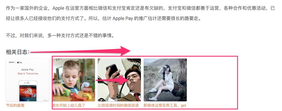 screenshot-Wordpress Related Posts居中