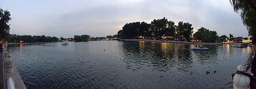 全景图-北京后海