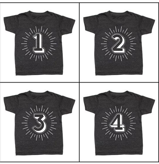 数字T恤3