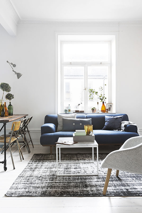 瑞典摄影师Therese Winberg住在这间温馨而清新的55平方米公寓
