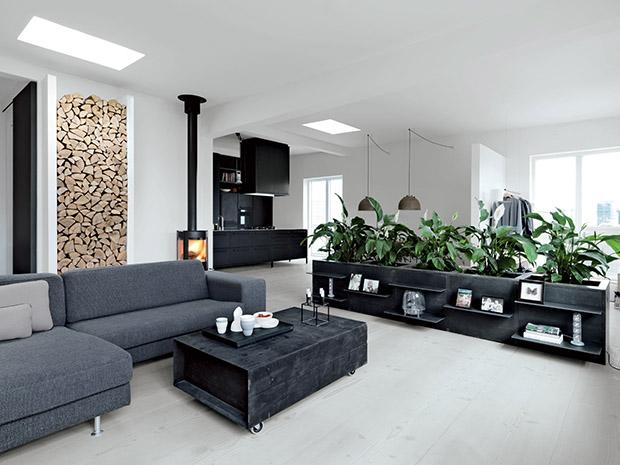 铅笔厂房改造的丹麦现代公寓