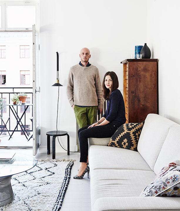 芬兰室内设计师和摄影师的北欧公寓