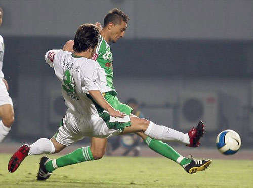 2007年中超第22轮:北京国安1-0浙江绿城