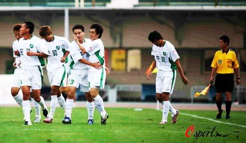 2007年中超第24轮:河南建业0-1浙江绿城