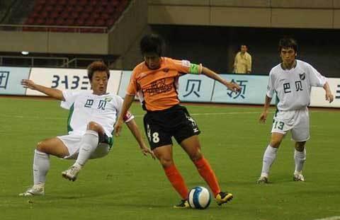 2007年中超第25轮:浙江绿城1-3武汉光谷