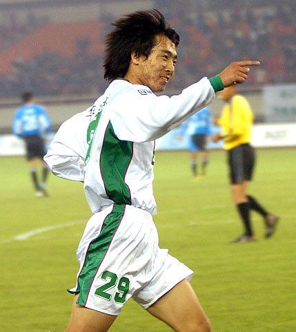 2007年中超第28轮:浙江绿城1-1大连实德
