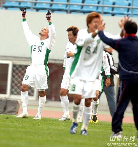 2007年中超第29轮:山东鲁能1-1浙江绿城