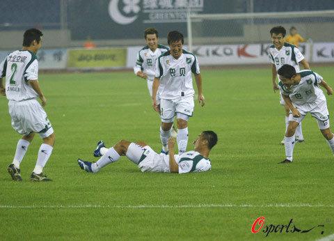2006年中甲第22轮:浙江绿城3-0上海康博
