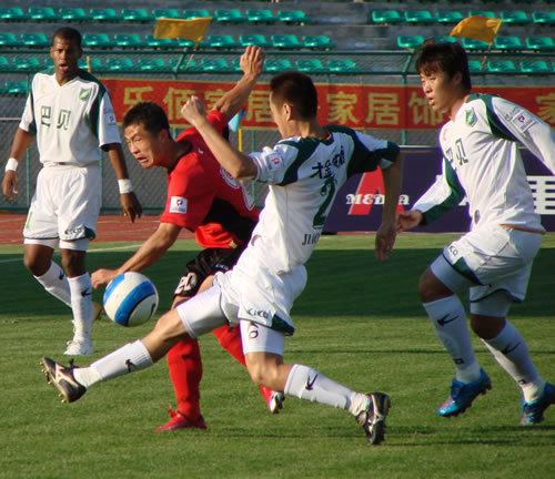 2006年中甲第23轮:延边队0-1浙江绿城