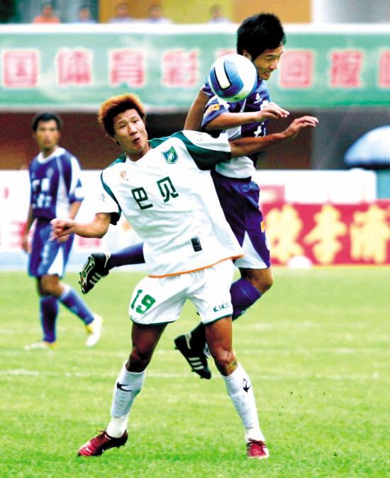 2006年中甲第19轮:广州医药3-2浙江绿城