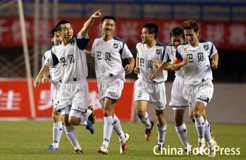 2006年足协杯半决赛第二回合:大连实德3-4浙江绿城