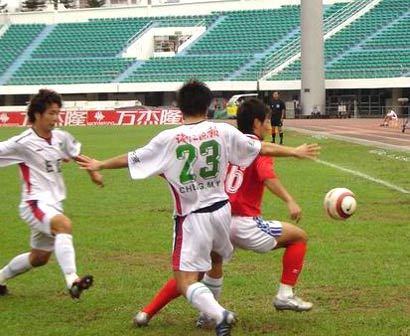2005年中甲第24轮:厦门蓝狮1-1浙江绿城