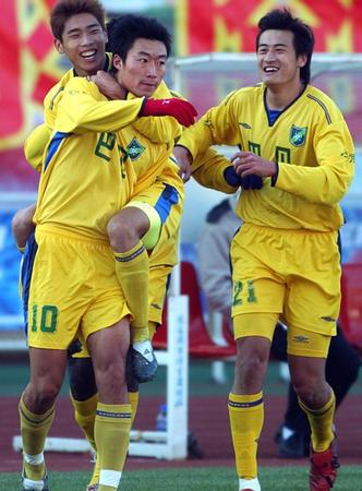 2005年中甲第26轮:长春亚泰3-1浙江绿城