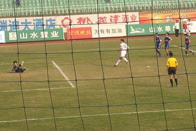 2004年中甲第25轮:南京有有2-2浙江绿城