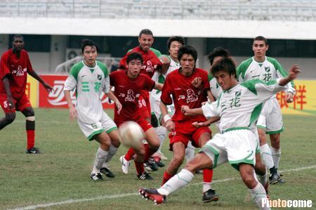 2003年甲B第23轮:厦门石狮0-1浙江绿城
