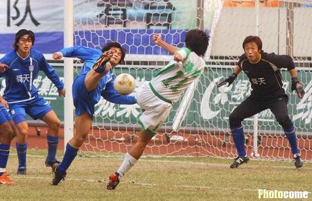 2003年甲B第24轮:浙江绿城2-3江苏舜天