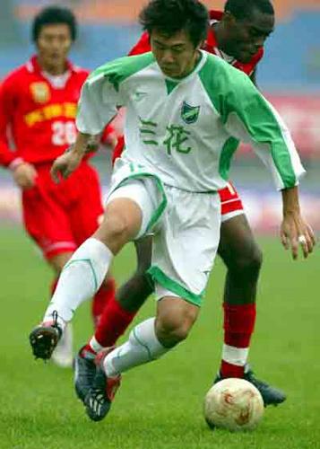 2003年甲B第25轮:成都五牛1-0浙江绿城