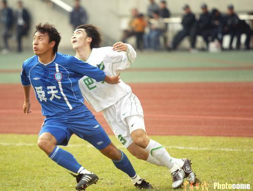 2004年中甲第33轮:浙江绿城2-0江苏舜天