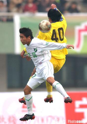 2004年中甲第30轮:宁波国力0-1浙江绿城