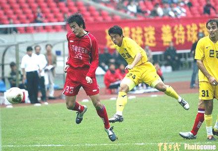 2004年中甲第31轮:浙江绿城1-1长春亚泰