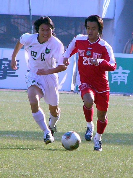 2004年中甲第34轮:河南建业1-0浙江绿城