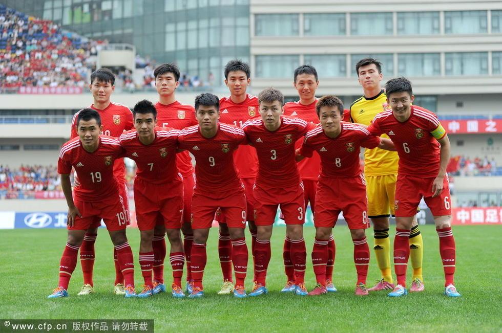 2014热身赛:中国国奥VS乌兹别克斯坦国奥-绿城入选人员