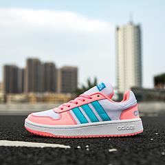 真标 Adidas NEO 易烊千玺迪丽热巴同款 透气大网低帮板鞋 36 36.5 37 38 38.5 39