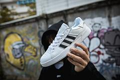 真标 Adidas VRX CUP LOW SHOES 滑板鞋 三叶草 二层皮+透气大网 36 36.5 37.5 38 38.5 39 40 40.5 41 42 42.5 43 44