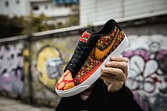 真标半码 Nike Blazer Low  开拓者 中国风丝绸面料 码数36 36.5 37 38 38.5 39 40 40.5 41 42 42.5 43 44 45