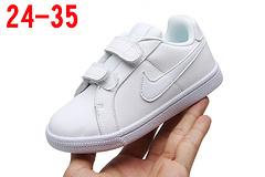 亚博集团童鞋运动休闲童鞋 全白 24-35