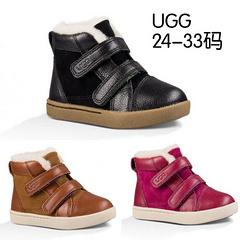 UGG 儿童短靴牛皮休闲运动鞋24-33# 瑞诺