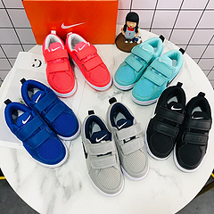 刘楚恬同款亚博集团板鞋网面童鞋出货22-35