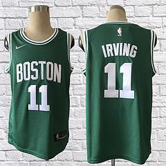 17-18赛季NBA耐克球迷版凯尔特人11号欧文绿色球衣
