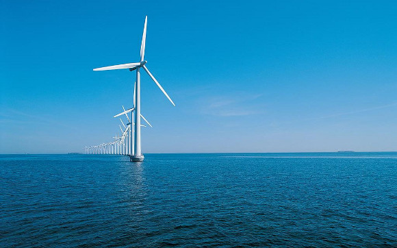 海上的风车