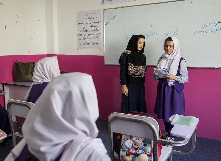 阿富汗女性教育受限