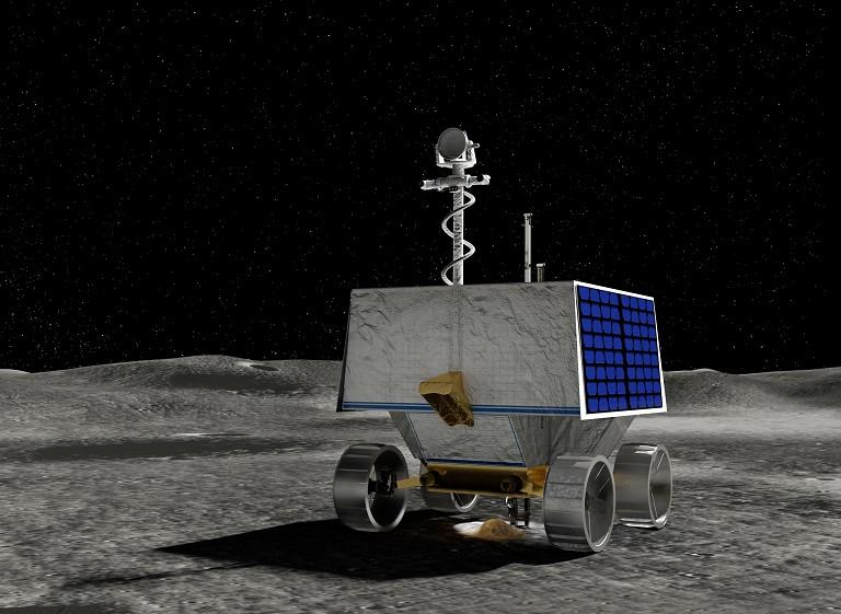NASA 月球极地探测车