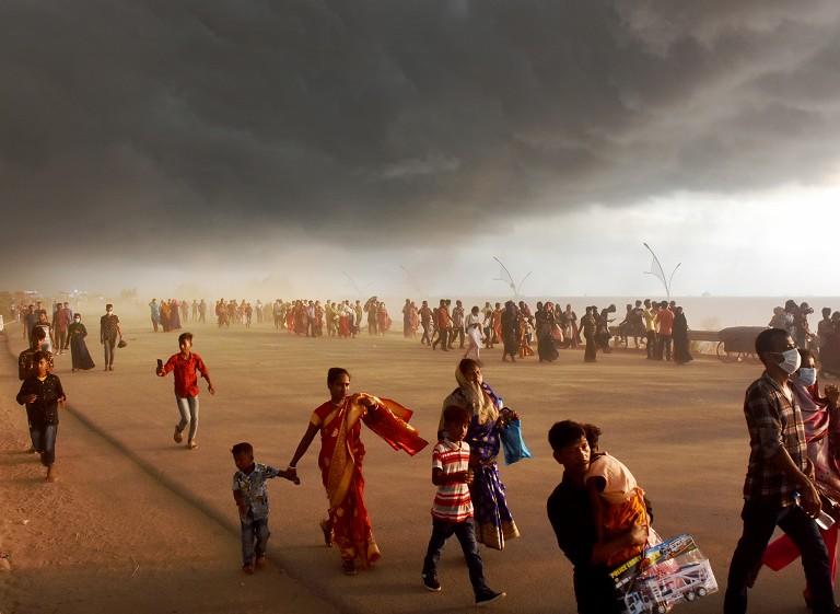 孟加拉国沙尘暴