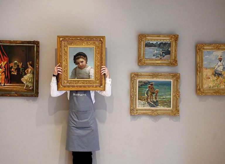 英国古典油画拍卖会