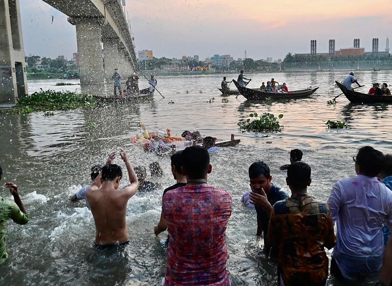 孟加拉庆祝杜尔迦节