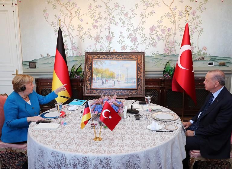 默克尔访问土耳其