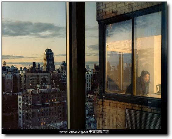 『女摄影师』Gail Albert Halaban,我的窗外,纽约