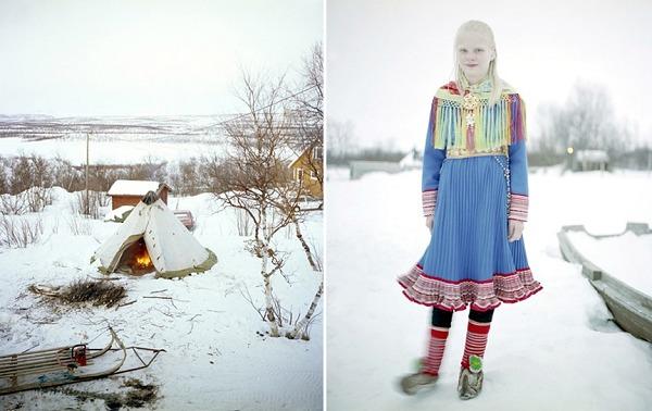 『女摄影师』Erika Larsen,萨米族部落