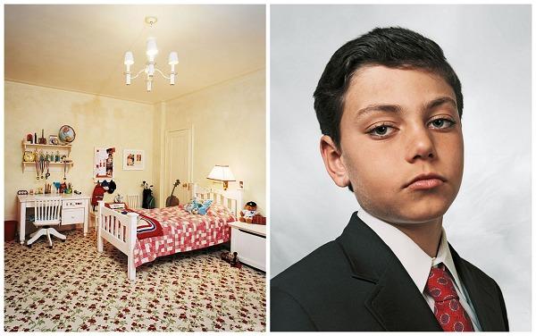 『他们在拍什么』James Mollison,孩子们睡觉的地方