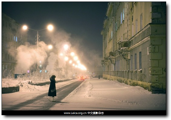 『女摄影师』Elena Chernyshova,极地之城