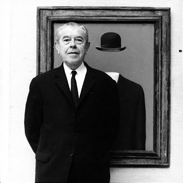 一幅比利时画家Rene Magritte 超现实主义油画 心弦 将以高估价拍卖 每