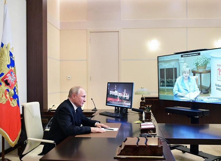 俄执政党赢得杜马大选