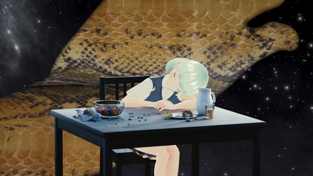《早餐与人工艺术》,费亦宁与官承翰,2019年