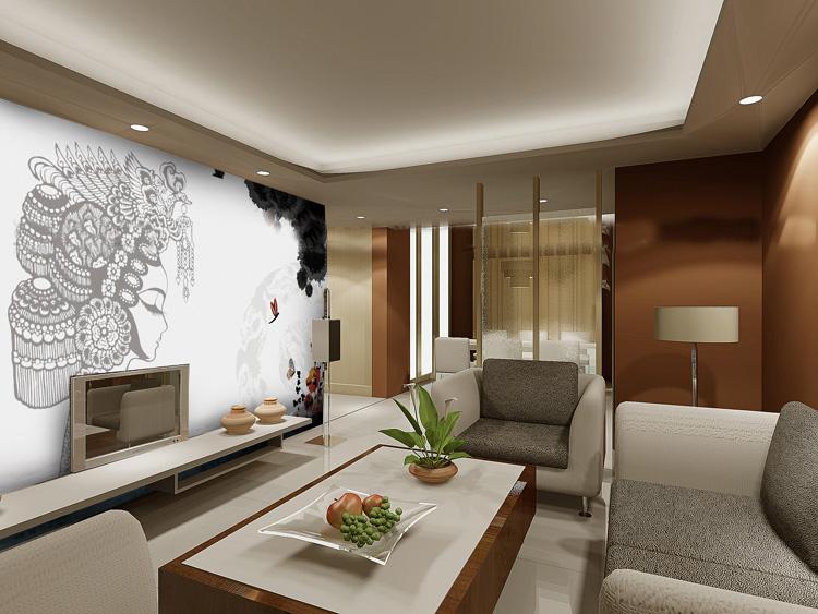 simple living room bedroom tv background wallpaper custom size ebay
