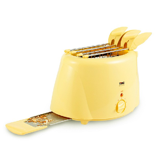 st6022b Stainless Steel 2 Slice Household Full Automatic Breakfast Toaster