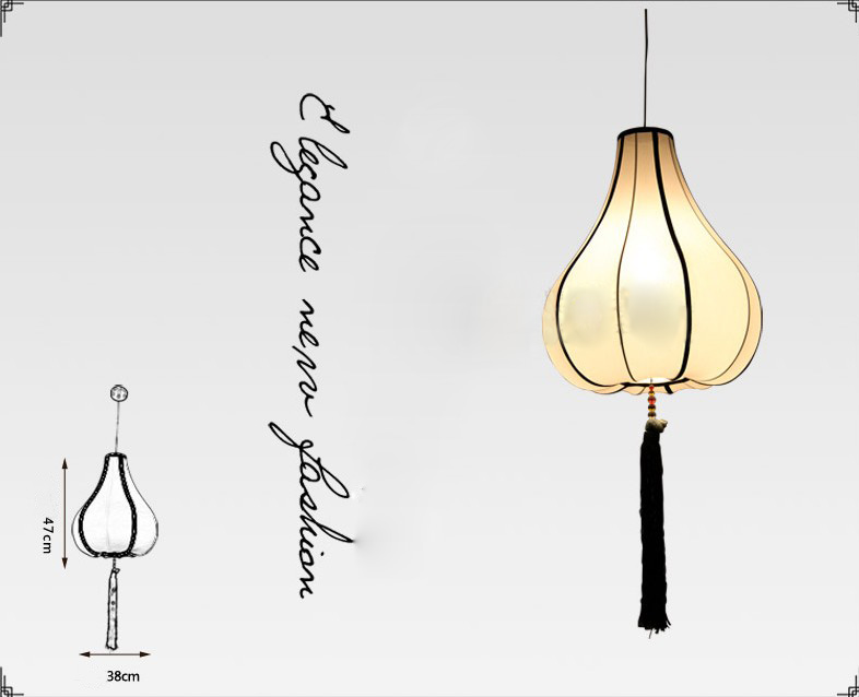 style e27 height 47cm iron fabric bedroom droplight chandelier ebay